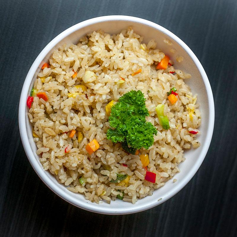 Yakimeshi de verduras